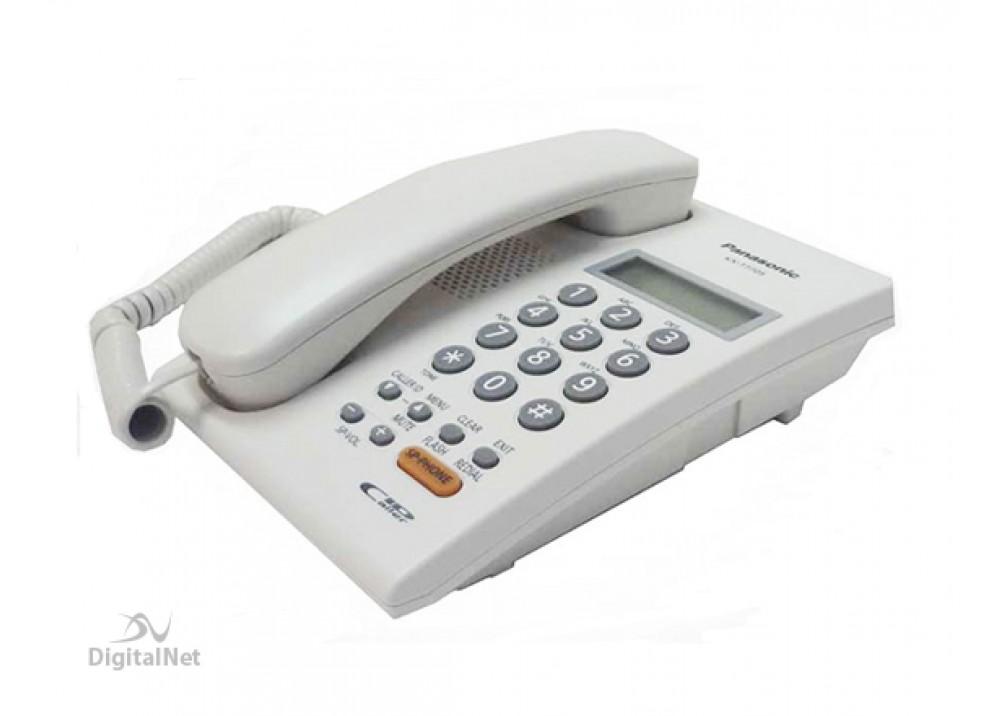 PANASONIC CORDED PHONE KX-T7705X WHITE