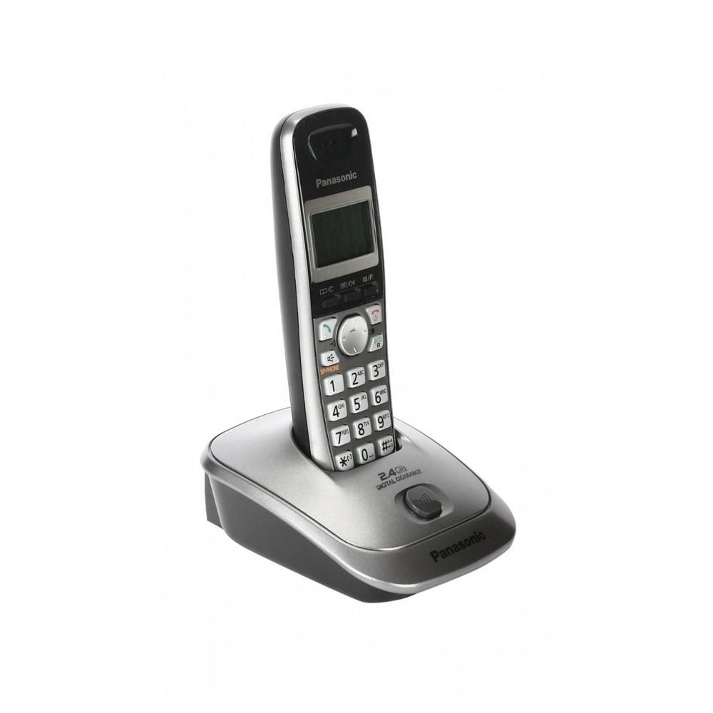 PANASONIC CORDEDLESS PHONE KX-TG3611 METAL