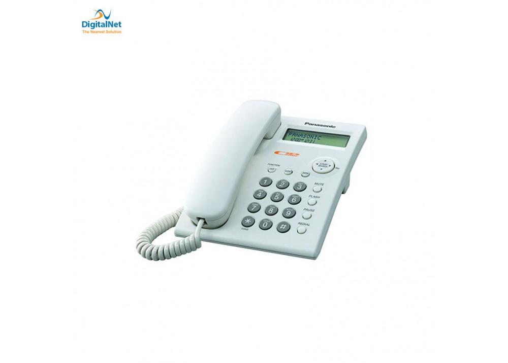 PANASONIC CORDED PHONE KX-TSC11W WITH CALLER ID WHITE