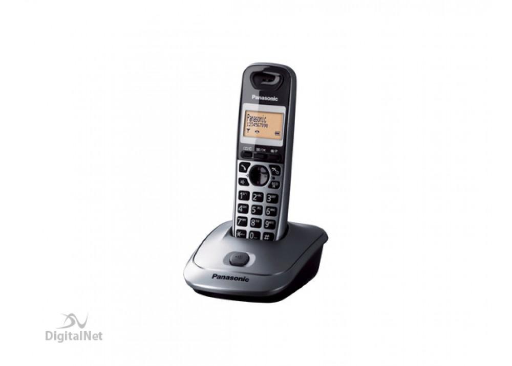 PANASONIC CORDLESS PHONE KX-TG2511 WITH CALLER ID 2.4GHZ BLACK