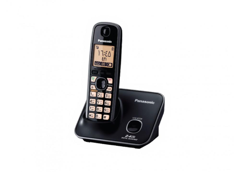 PANASONIC CORDEDLESS PHONE KX-TG3711 BLACK
