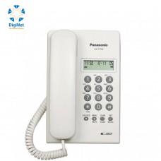 باناسونيك هاتف سلكي مع كاشف KX-T7703 FX  أبيض