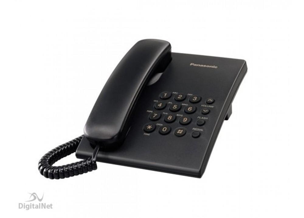PANASONIC CORDED PHONE KX-TS500 MX BLACK
