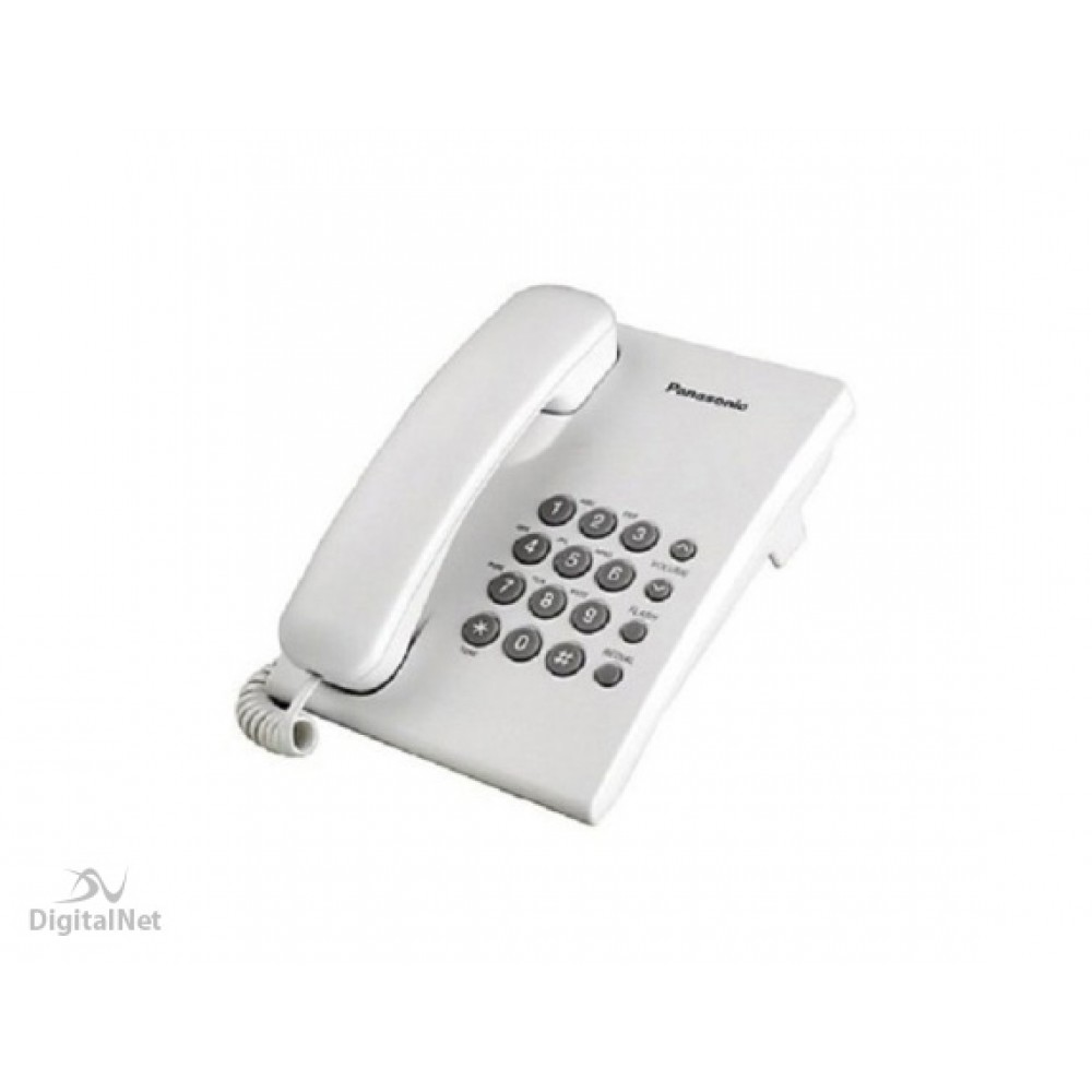 PANASONIC CORDED PHONE KX-TS500 MX WHITE