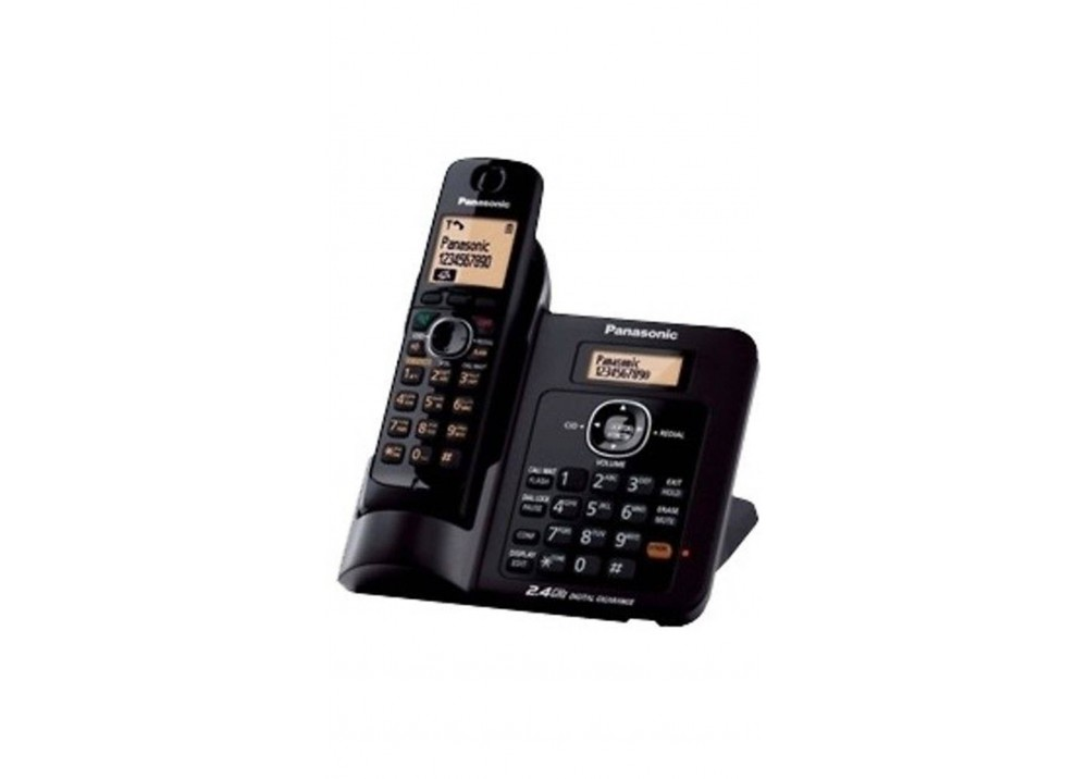 PANASONIC CORDLESS PHONE KX-TG3811 BX BLACK