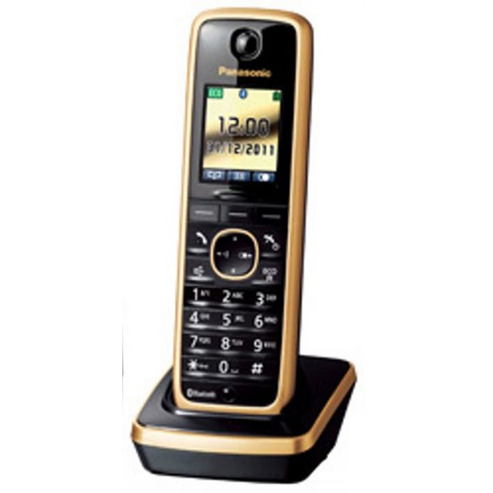 PANASONIC CORDLESS PHONE KX-TG 8611 GOLD