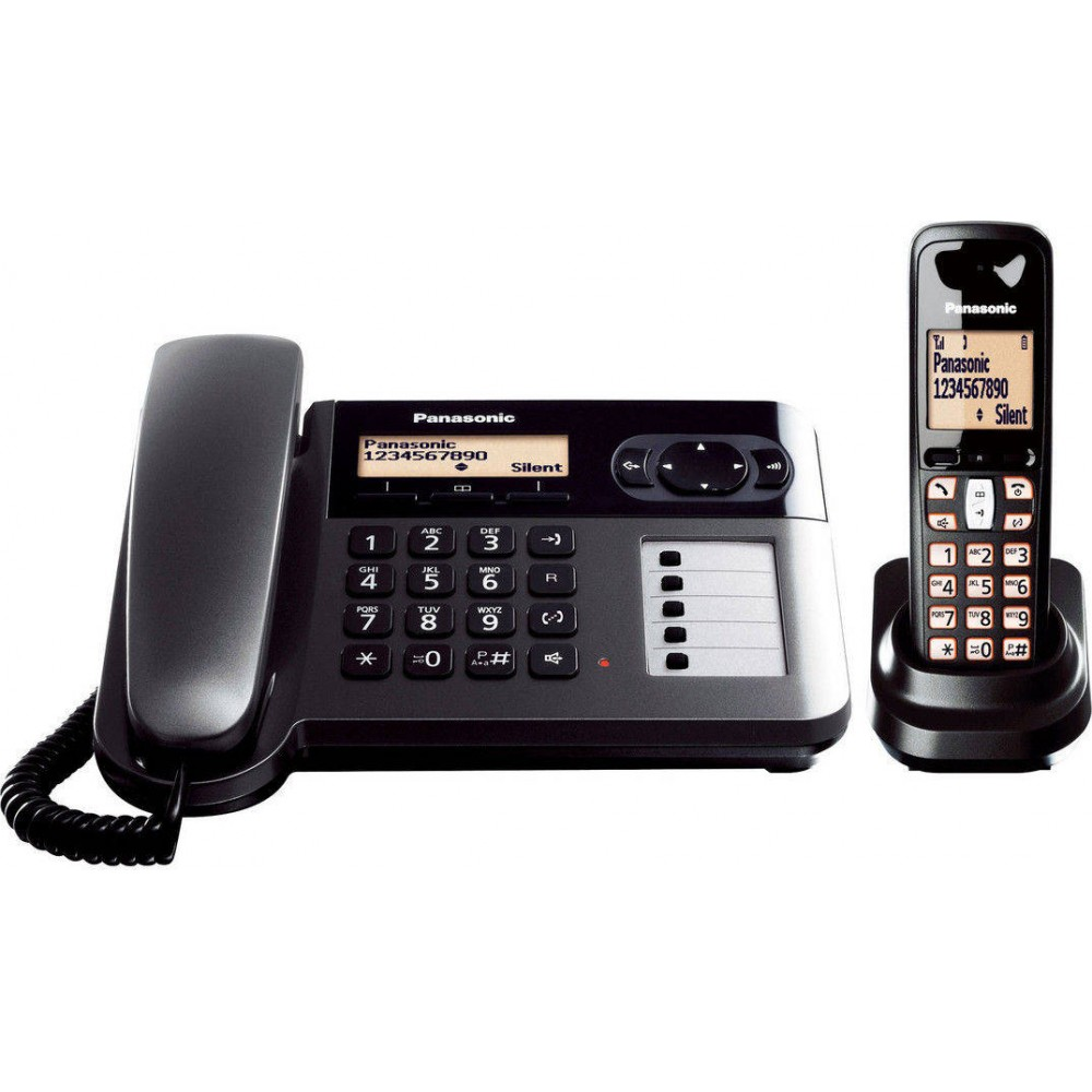PANASONIC CORDLESS PHONE KX-TGF110 2 HANDSETS