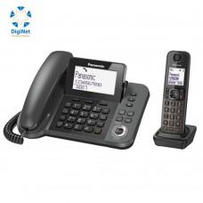 باناسونيك هاتف لاسلكي مع سماعتين KX-TGF320  أسود