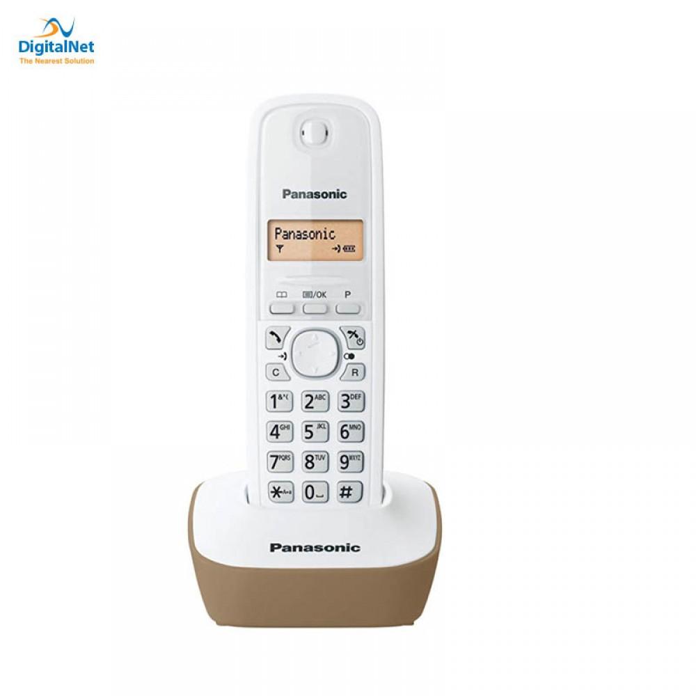 PANASONIC  CORDLESS PHONE KX-TG1611 WHITE BEIGE