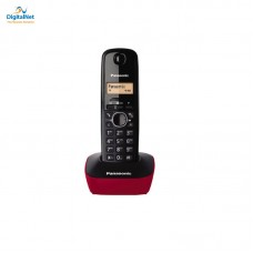 باناسونيك هاتف لاسلكي KX-TG1611 أسود وأحمر