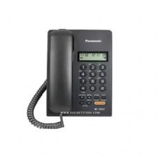 باناسونيك هاتف سلكي مع كاشف KX-T7705X أسود