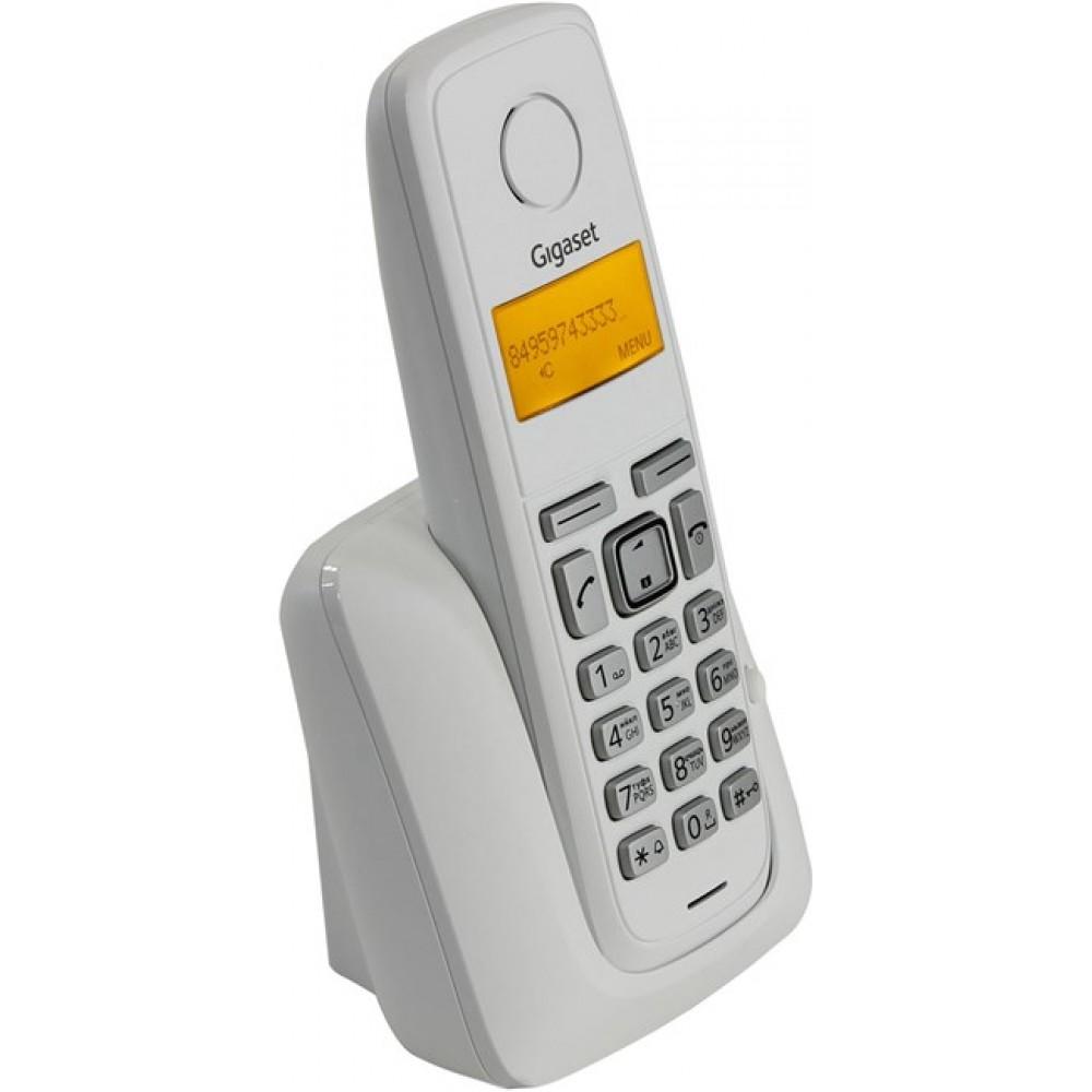 GIGASET CORDLESS PHONE A120 WHITE