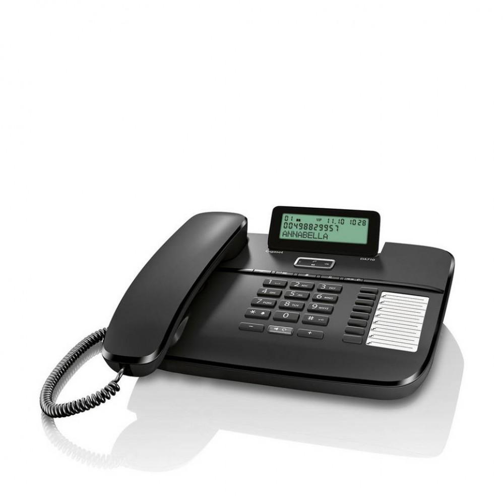 GIGASET CORDED PHONE DA710 BLACK