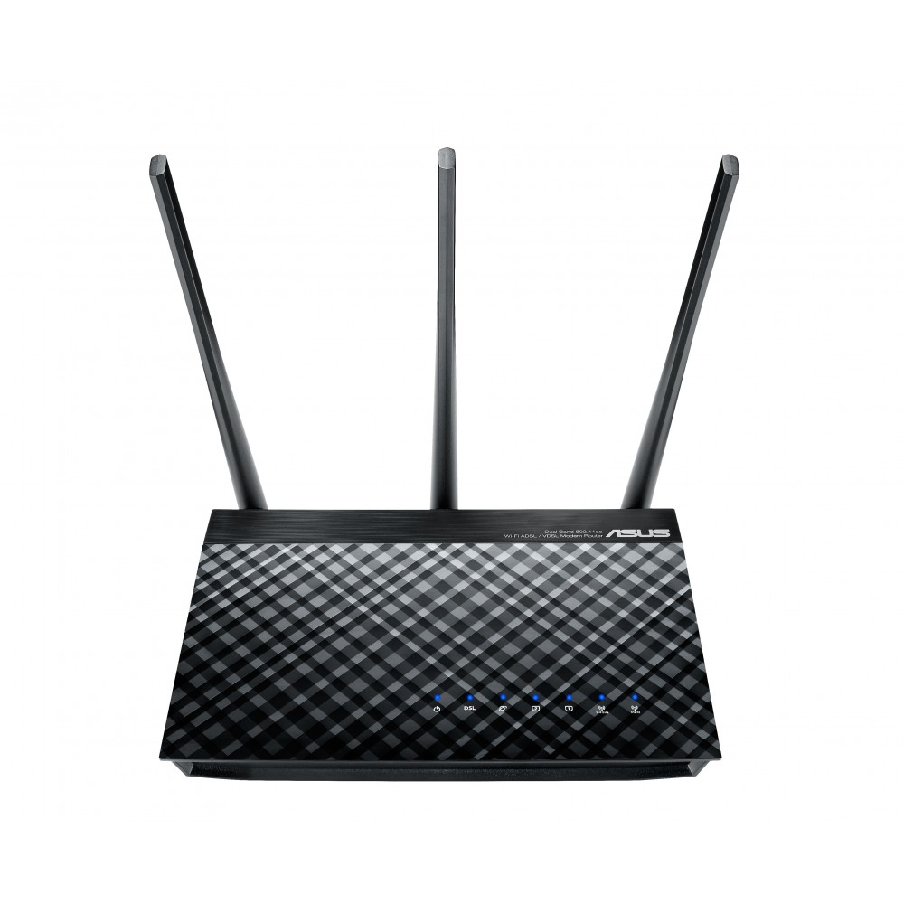 ASUS MODEM WIRELESS ROUTER DSL-AC51 BLACK