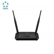 دي لينك راوتر لاسلكي  N300 ADSL+ MODEM ROUTER DSL-2740M