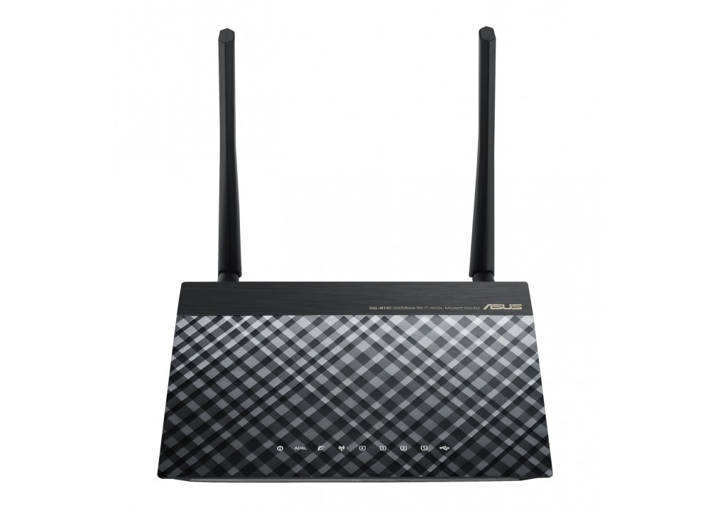 ASUS WIRELESS ADSL ROUTER N14U_B1 N300M MULTIPLE SSID WITH USB