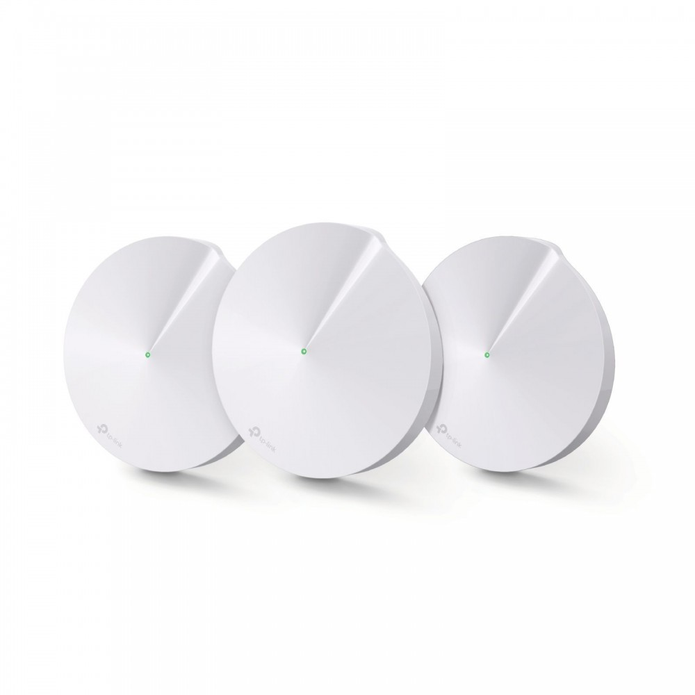 TP-LINK DECO M9 PLUS AC2200 SMART HOME MESH WIFI SYSTEM 3-PACK WHITE