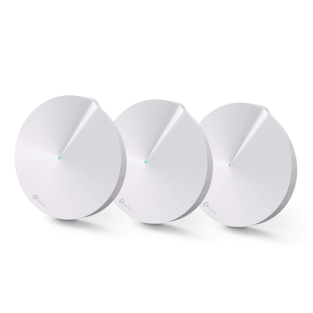 TP-LINK DECO M5 PLUS AC1300 DUAL BAND WIFI SYSTEM 3-PACK WHITE
