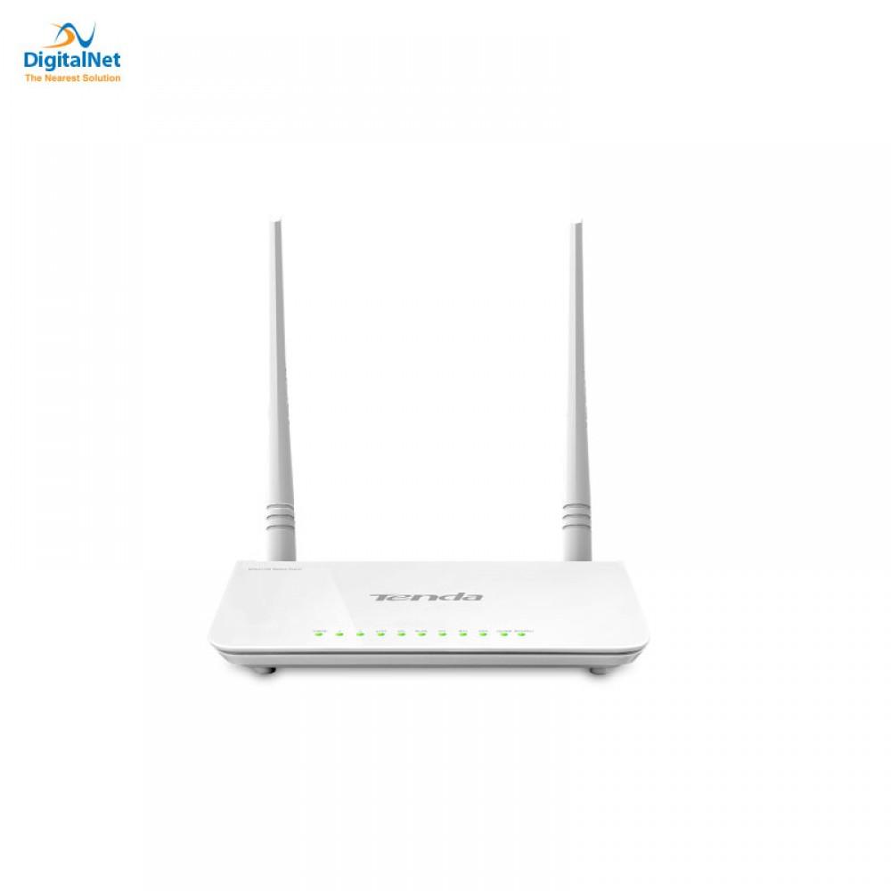 TENDA WIRELESS ROUTER D303 N300 ADSL2+ USB