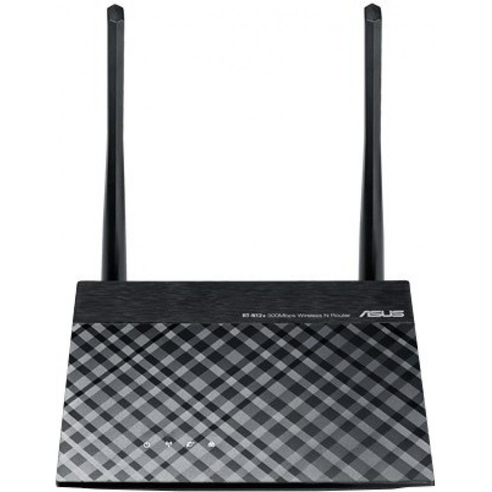 ASUS WIRELESS ACCESS POINT RT-N12 PLUS N300 MBPS BLACK