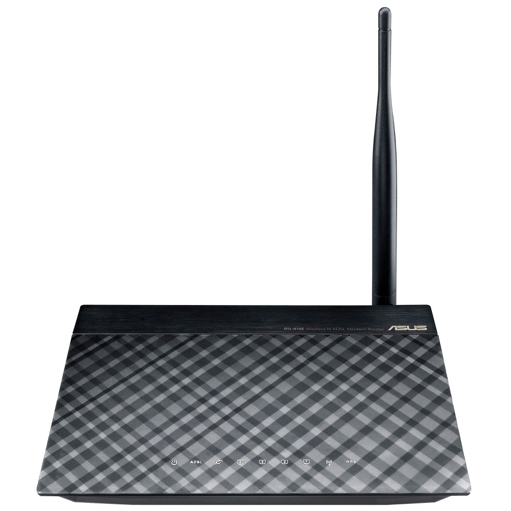ASUS WIRELESS ADSL ROUTER DSL-N10E 150Mbps BLACK