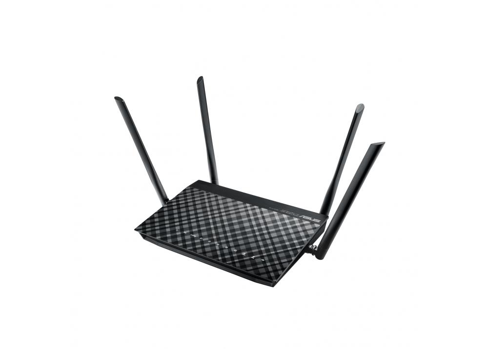 ASUS WIRELESS ADSL ROUTER DSL-AC55U AC1200 BLACK