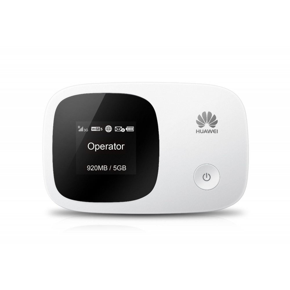HUAWEI WIRELESS PORTABLE 3G ROUTER E5336 WHITE