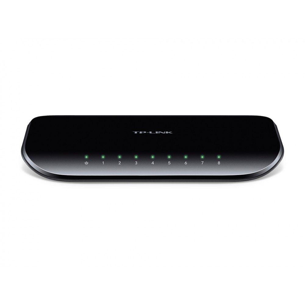 TP-LINK GIGABIT DESKTOP SWITCH TLSG1008D 8 PORTS