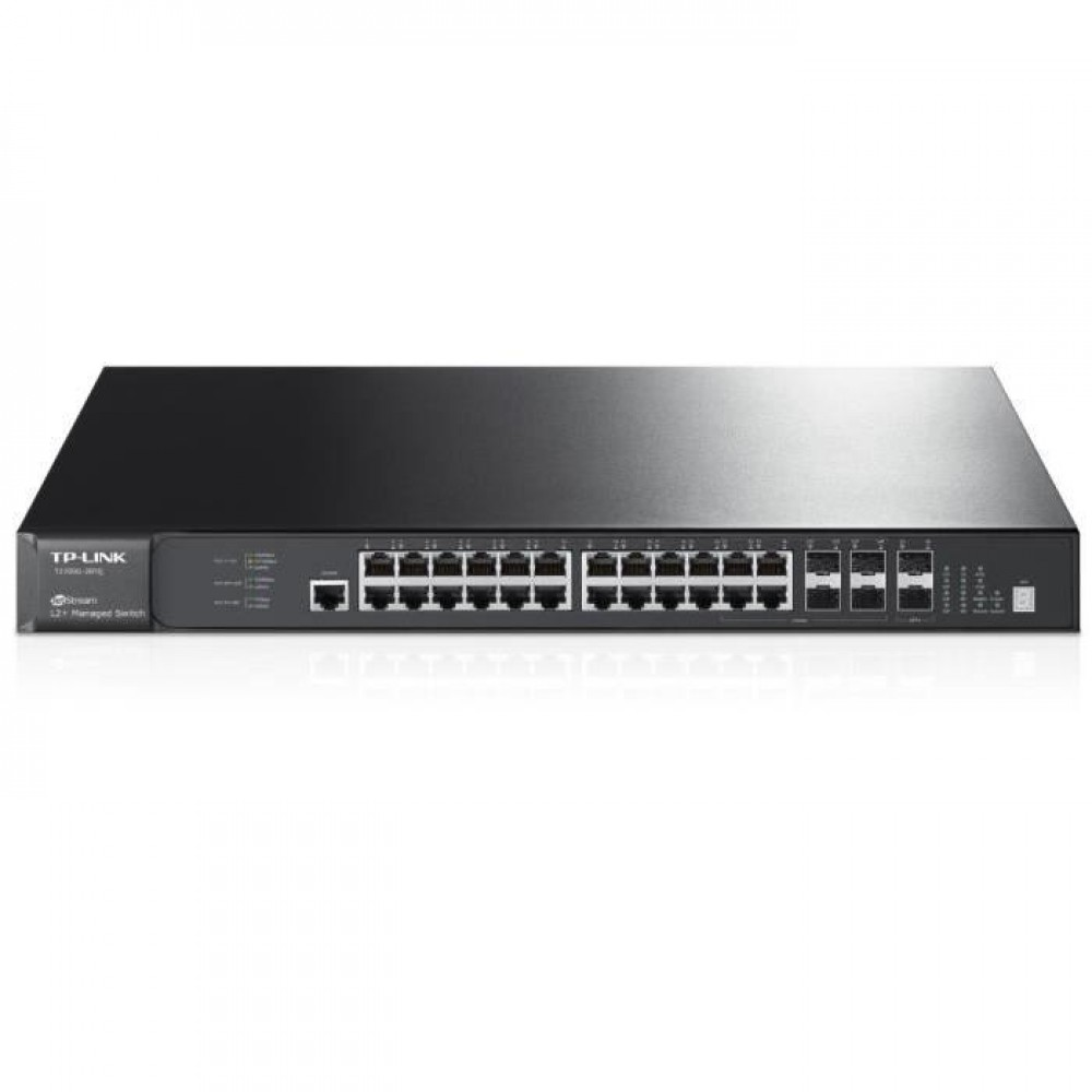 TP-LINK T2700G -28TQ SWITCH JETSTREAM 28 PORT  L2+ SW
