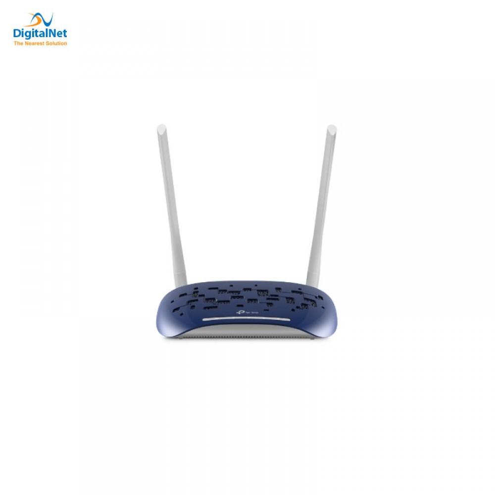 TP-LINK TD-W9960 N300 WIRELESS VDSL/ADSL ROUTER BLUE