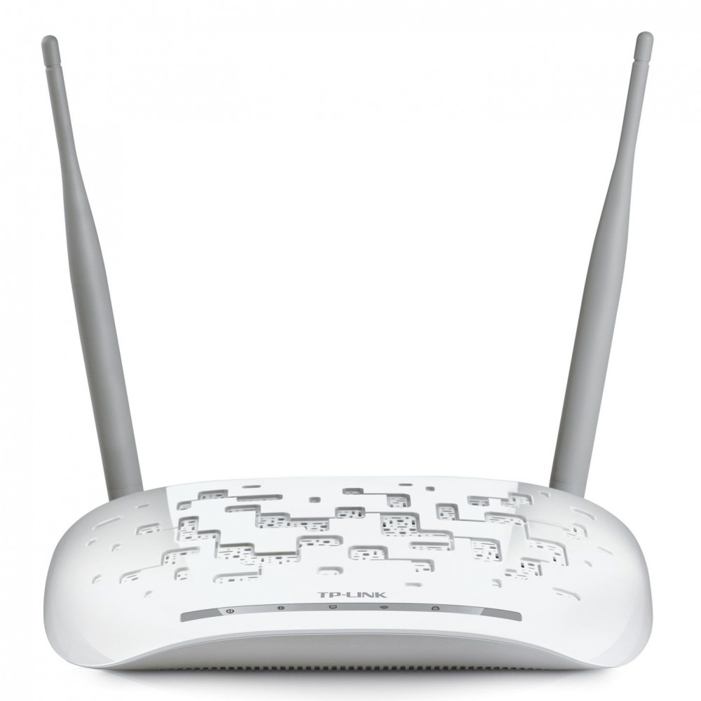 TP-LINK WIRELESS ADSL ROUTER  TD-W8961 N300MB WHITE