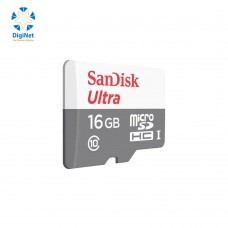 سانديسك كرت ذاكرة MICRO SD SDHC 16GB C10-80MB/S