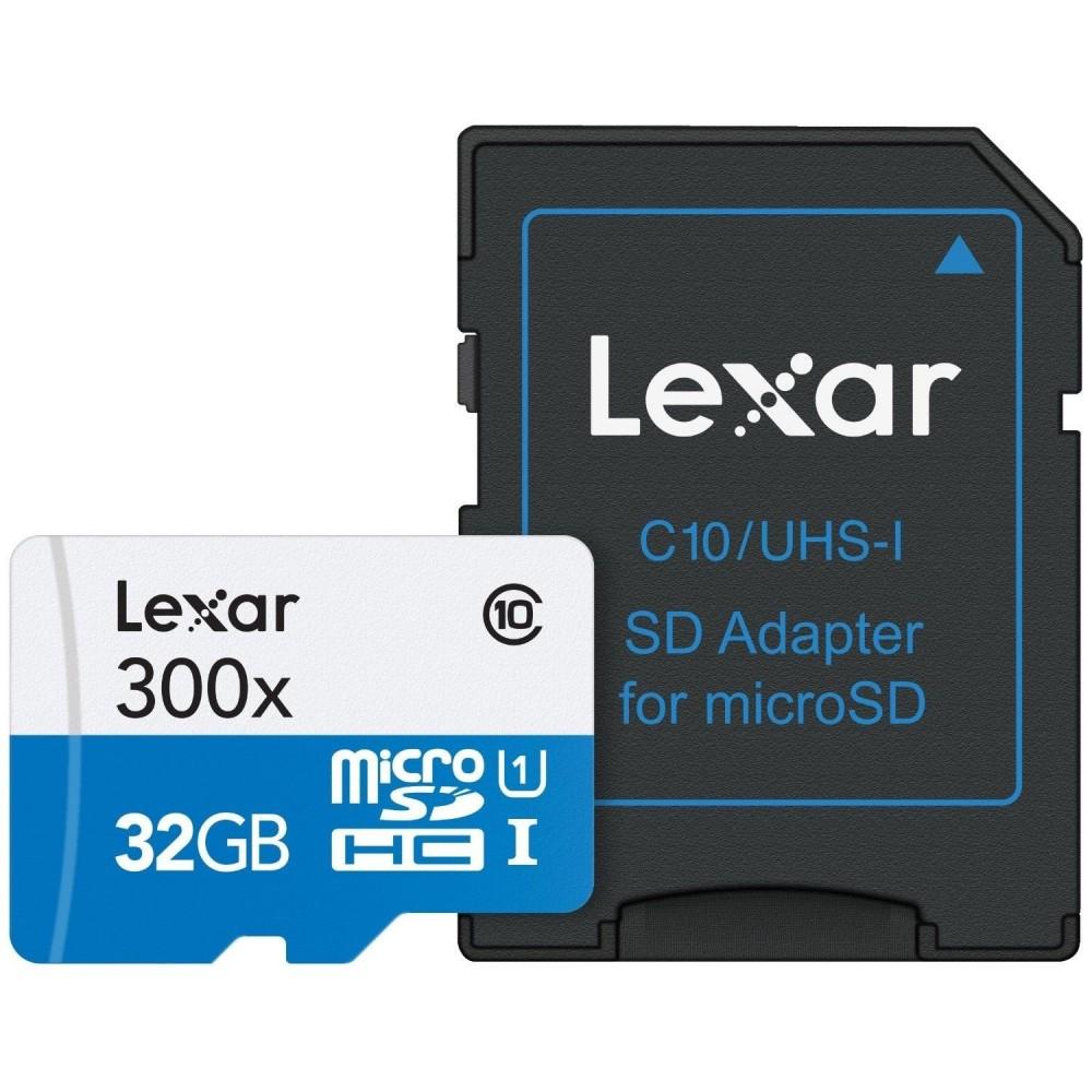 LEXAR MICRO SD CARD SDHC 32GB CLASS 10