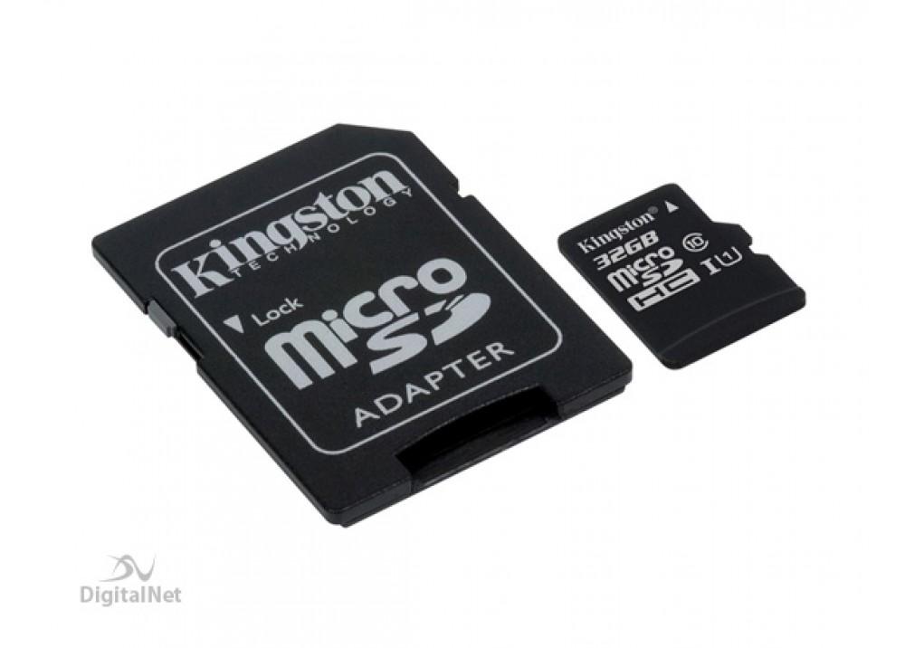 KINGSTON MICRO SD CARD SDHC 32GB CLASS 10