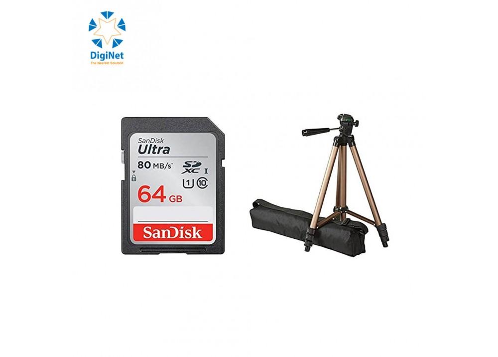 SANDISCK ULTRA SDXC ClASS 10  64GB 80/s