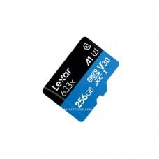 ليكسار كرت ذاكرة 256 جيجابايت  Micro SDHC/SDXC UHS-I 100MB/s