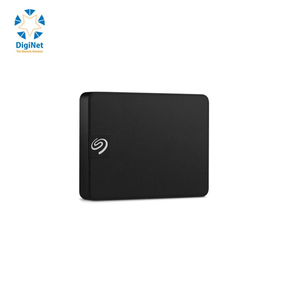 SEAGATE EXTERNAL HARD DRIVE EXPANSION PORTABLE SSD 500 GB USB3.0 BLACK