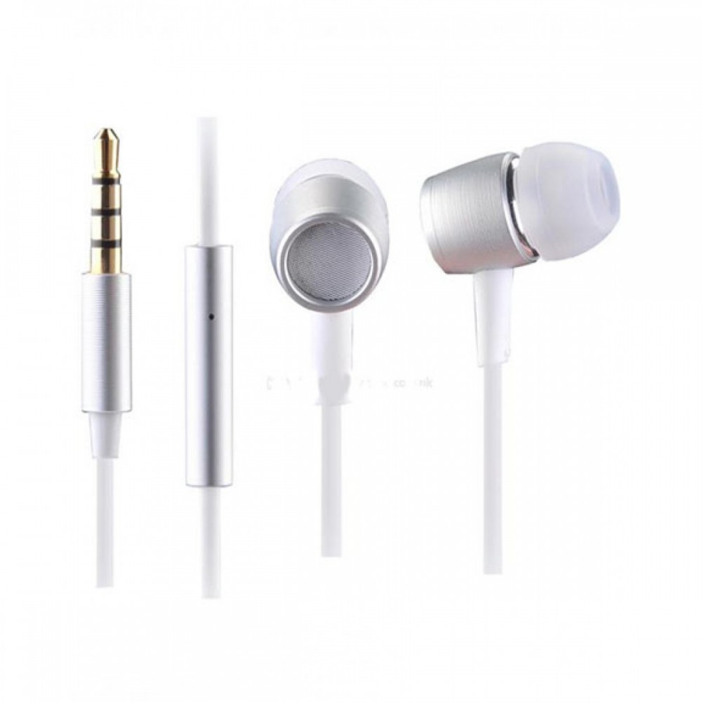 A4 TECH STEREO WIRED EARPHONE MK 730 SILVER & WHITE