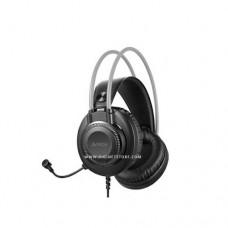 اي فور تيك سماعات رأس FH-200u USB أسود