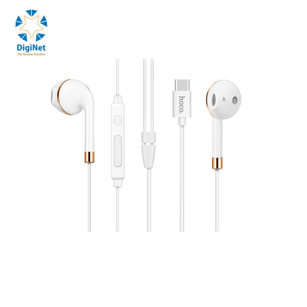 HOCO EARPHONES L8 TYPE-C BLUETOOTH WHITE