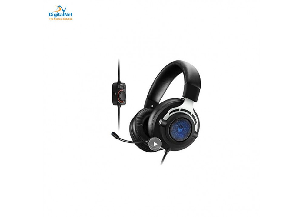 RAPOO  GAMING HEADSET VH300 ILLUNINATED USB 7.1 CH- BLACK