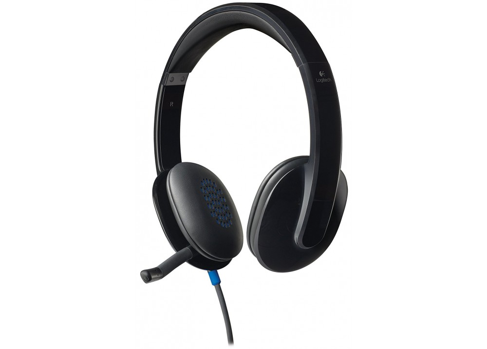 LOGITECH WIRED HEADSET H540 USB BLACK