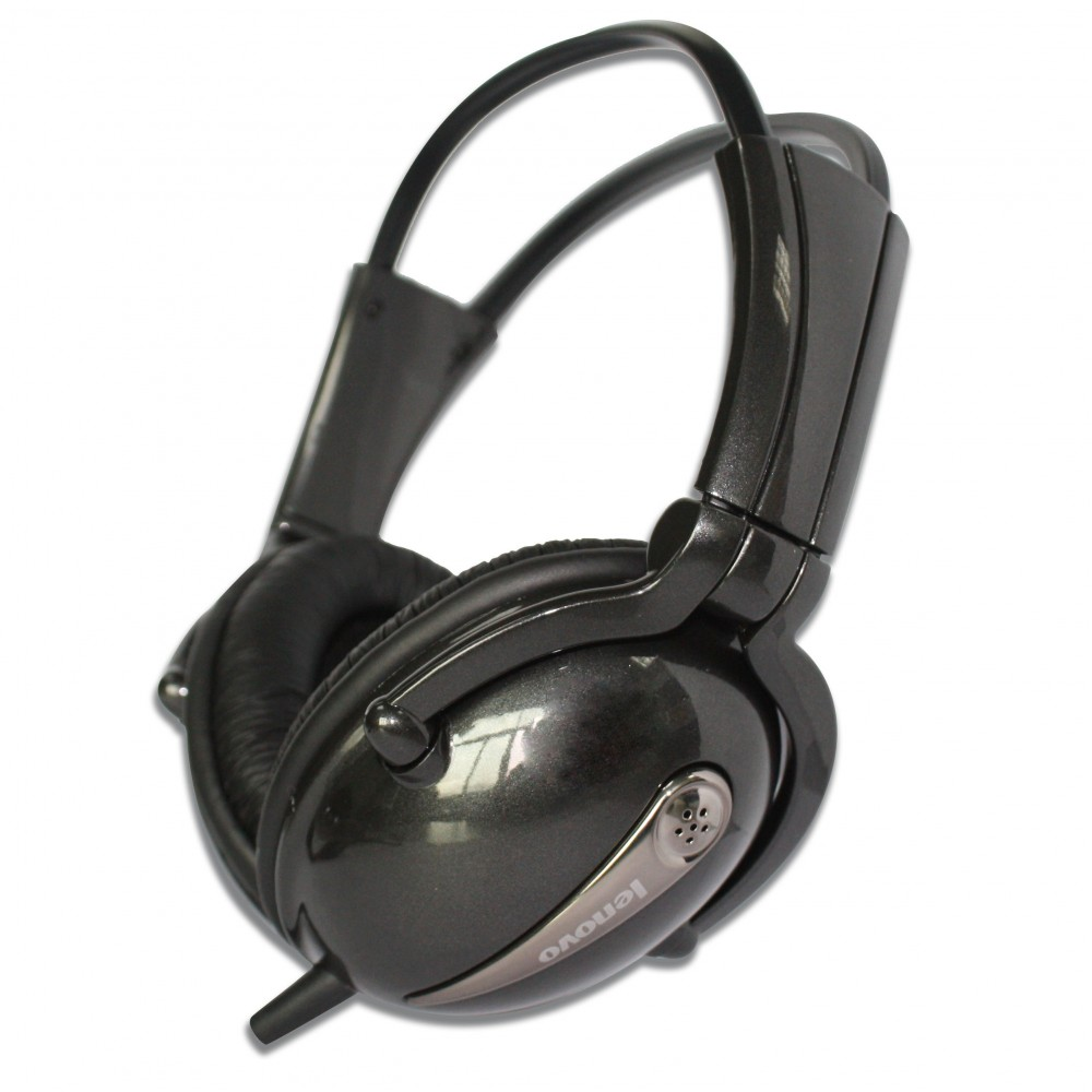 LENOVO WIRED HEADSET P723N BRIGHT BLACK