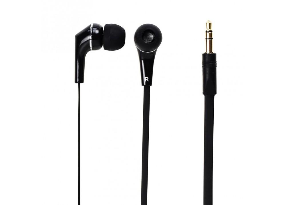 PROMATE STEREO WIRED EARPHONES  EARMATE-UNI1 BLACK