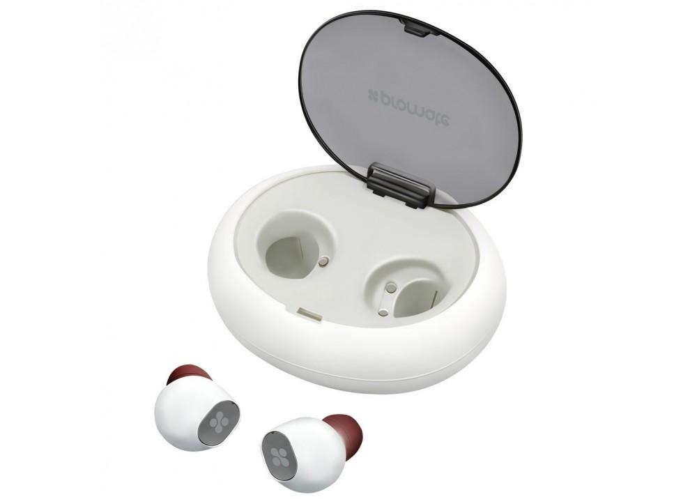 PROMATE  WIRELESS STEREO TRUEBLUE.WHITE Hi-Fi EARPHONES