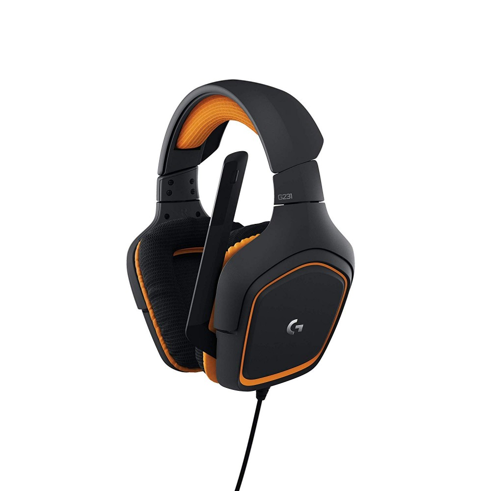 LOGITECH GAMING WIRED HEADSET G231 BLACK