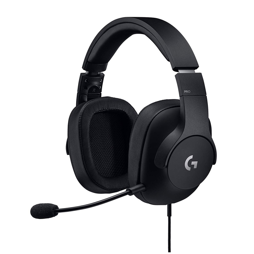 LOGITECH GAMING WIRED HEADSET PRO BLACK