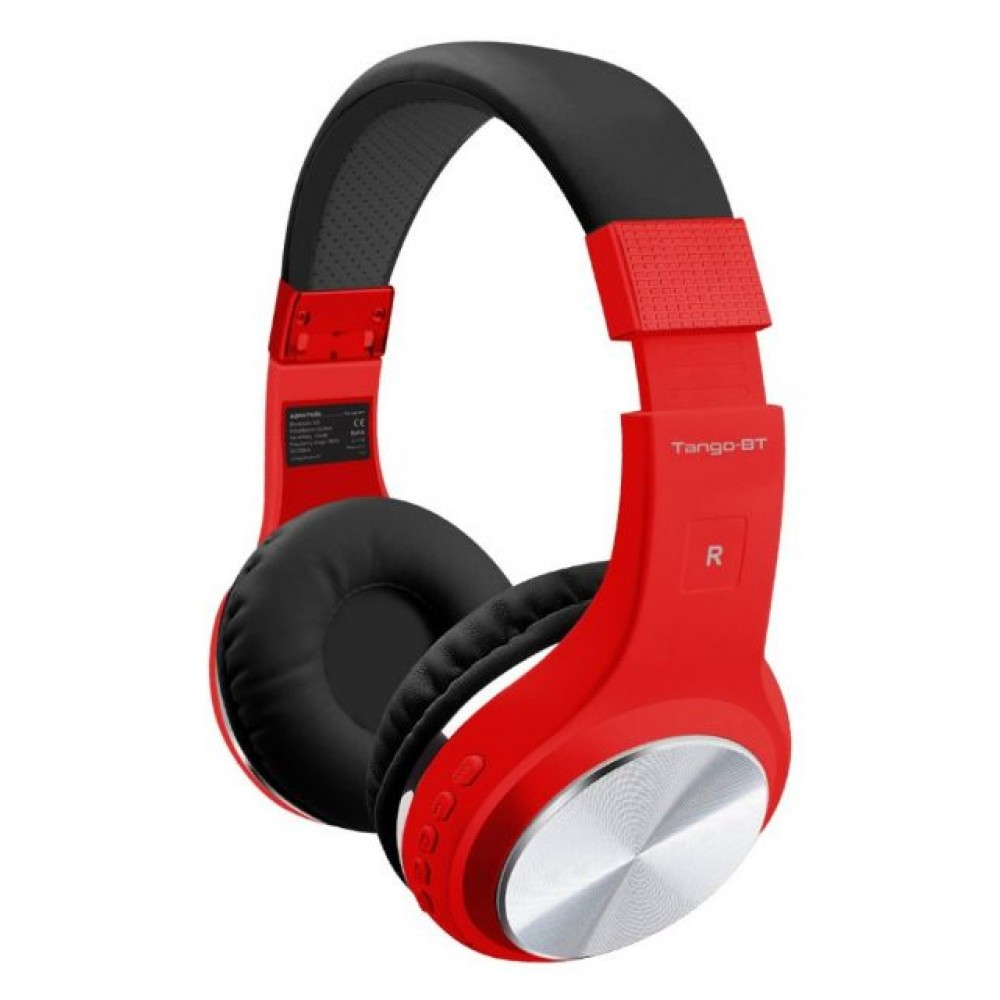 PROMATE WIRELESS HEADSET TANGO-BT RED
