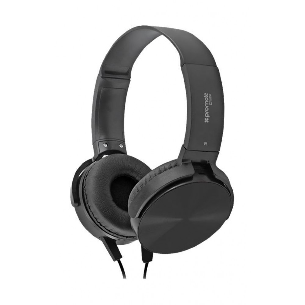 PROMATE WIRED HEADSET CHIME BLACK