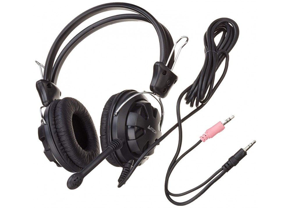 A4 TECH WIRED HEADSET HS-28-I BLACK